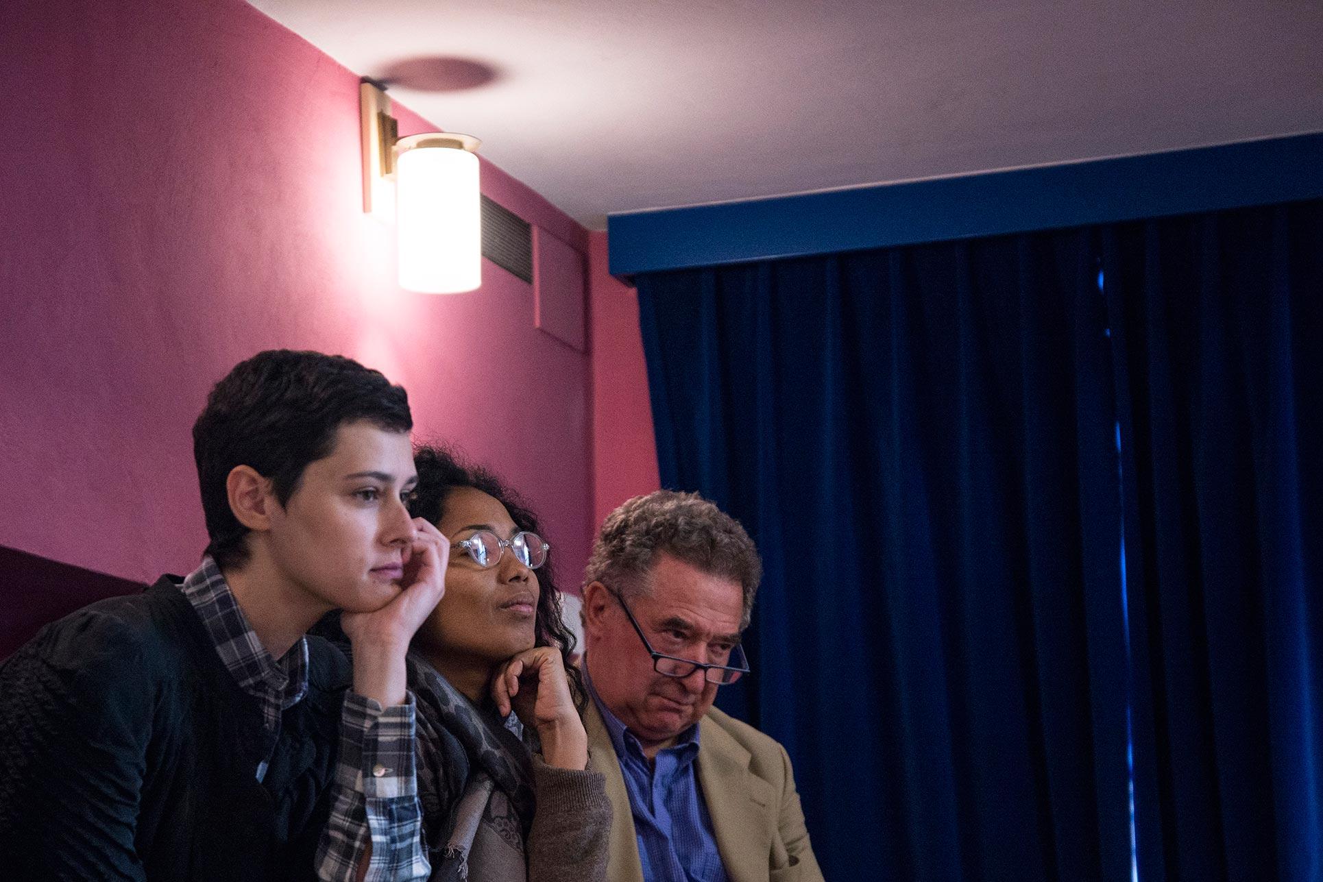 Giovanna Manzotti, Ana Pedroso, Guido Magnaguagno (Photo: Alessandro Ligato)