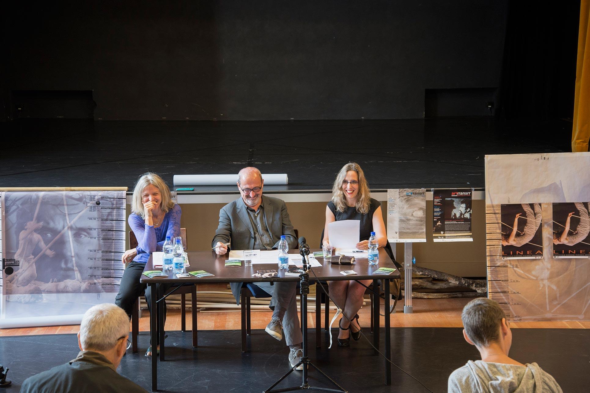 Tiziana Arnaboldi, Domenico Lucchini, Barbara Fässler (Photo: Alessandro Ligato)