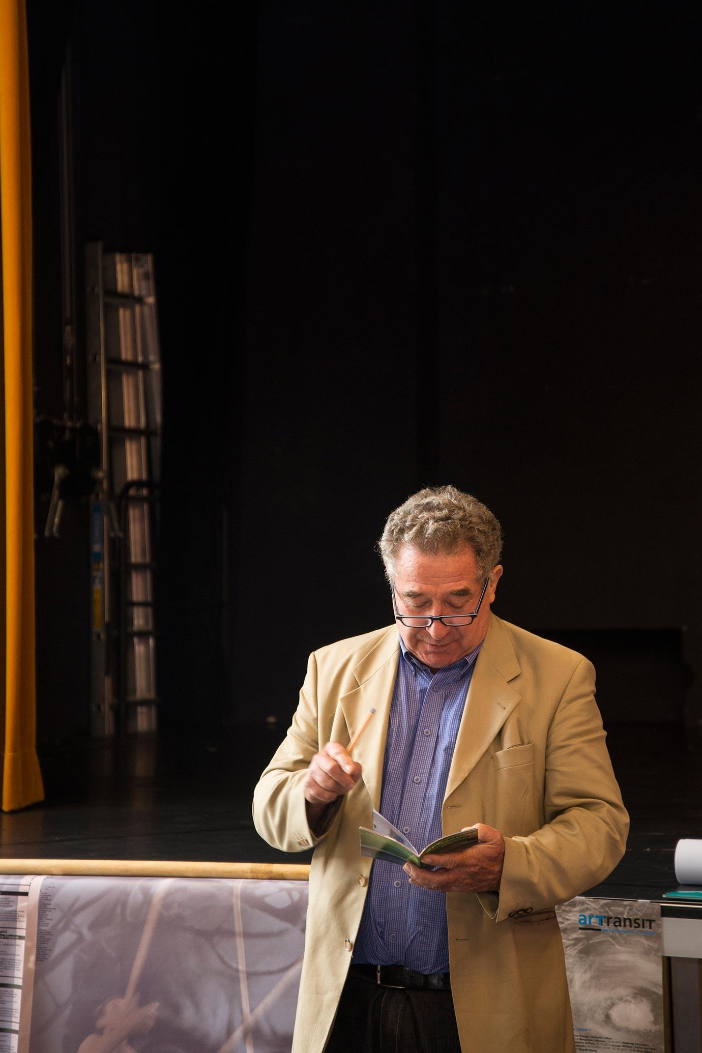 Guido Magnaguagno (Photo: Alessandro Ligato)