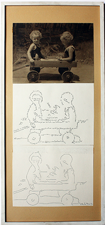 Ketty La Rocca, Due bimbi, 1974