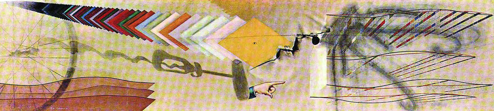 Marcel Duchamp, Tu m, 1918