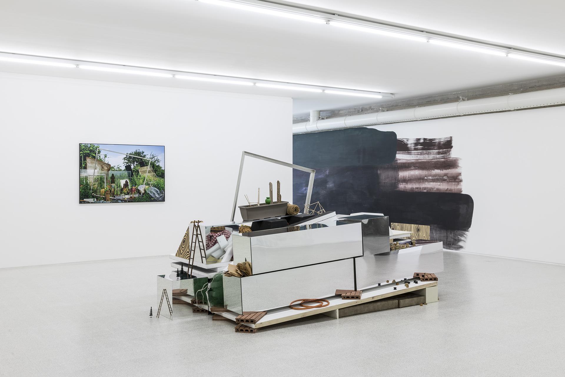 Lutz & Guggisberg, il giardino, Ausstellungsansicht, Collezione Maramotti, Reggio Emilia, April 2018 (Foto: Roberto Marossi)
