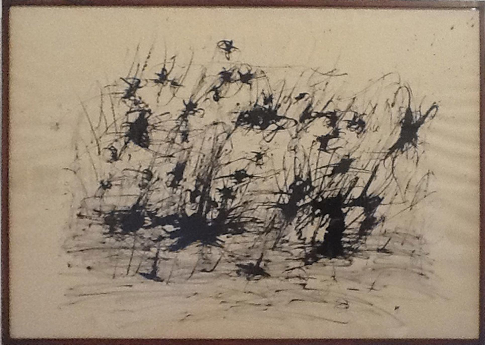 Henri Michaux, Untitled VII, 1960