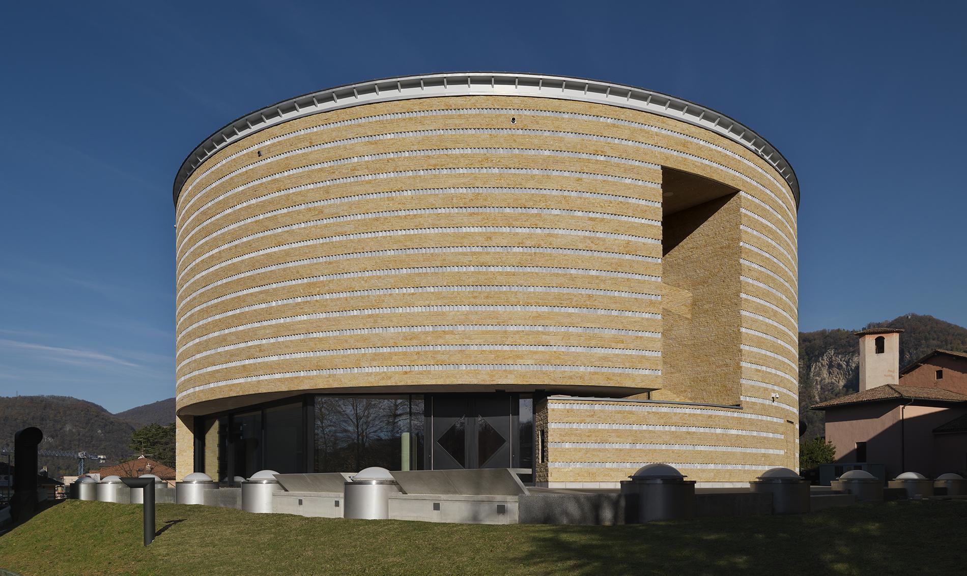 Mario Botta, Museo dell'Architettura, Mendrisio, 2018