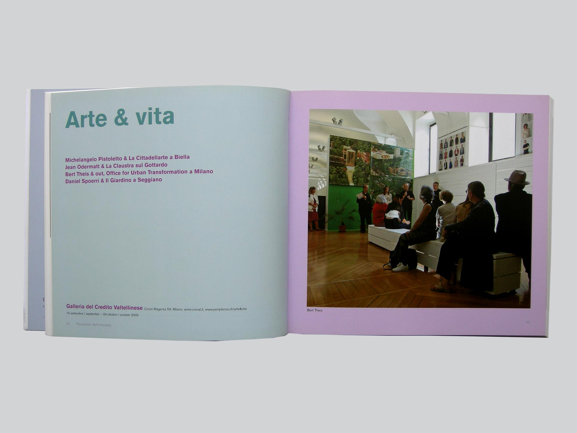 Electa catalogue, ISR Swiss Institute Rome